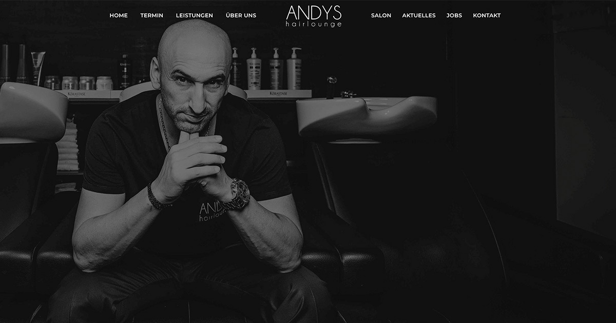 home | andys hairlounge – ihre friseuer salon in düsseldorf